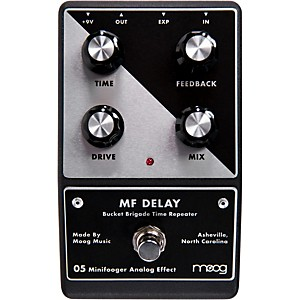 Moog Minifooger Delay Guitar Effects Pedal by Moog