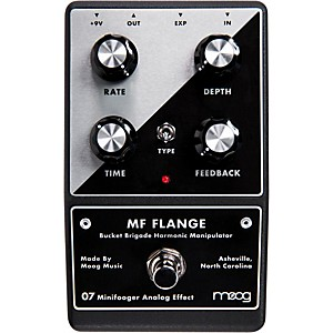 Moog Minifooger Flange Guitar Effects Pedal by Moog