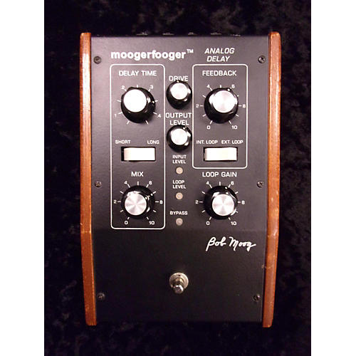 Moog Minifooger MF 104 Analog Delay Effect Pedal