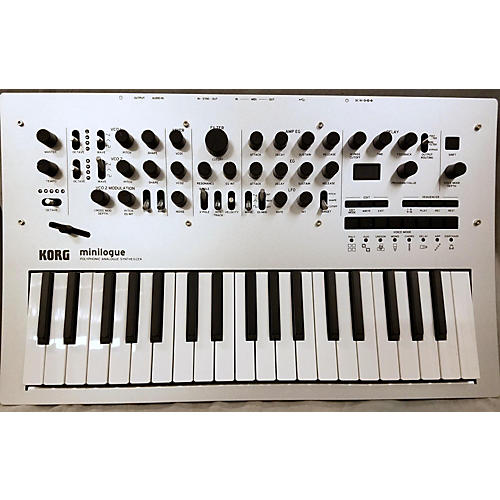Korg Minilogue 4 Voice Polyphonic Analog Synthesizer-thumbnail