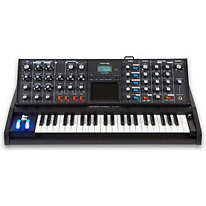 Moog Minimoog Voyager Electric Blue Analog Synthesizer by Moog