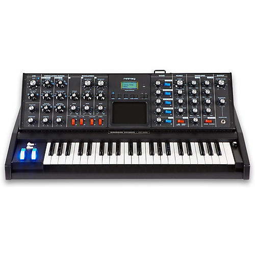 Moog Minimoog Voyager Electric Blue Analog Synthesizer