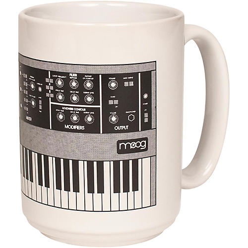 Moog Minimug - Coffee Mug White