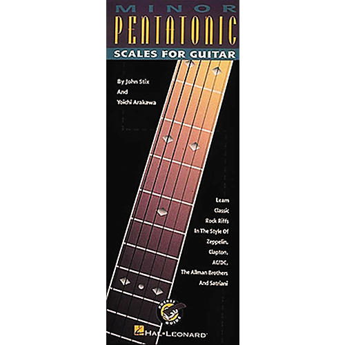 Hal Leonard Minor Pentatonic Scales for Guitar-thumbnail