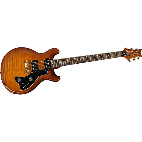 PRS Mira Flame Maple Top, Standard Neck with Moon Inlays and Gold Hardware Electric Guitar-thumbnail
