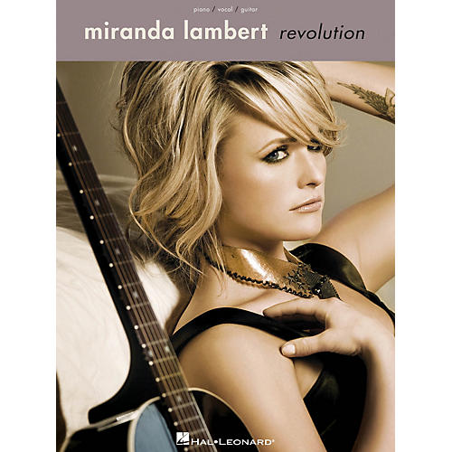 Hal Leonard Miranda Lambert - Revolution Piano/Vocal/Gutar Songbook-thumbnail