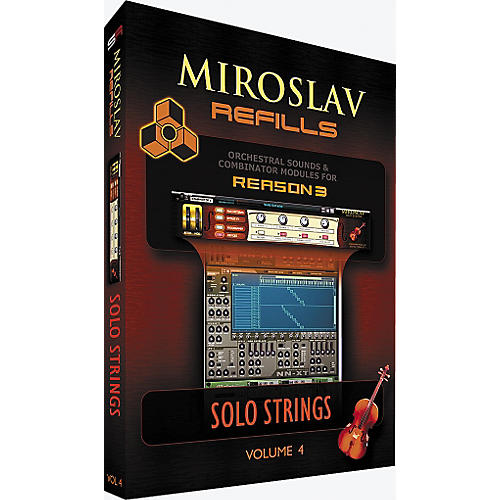 IK Multimedia Miroslav Refills Volume 4 - Solo Strings-thumbnail