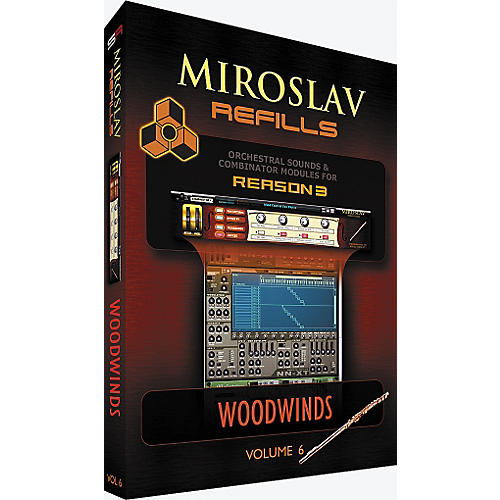 IK Multimedia Miroslav Refills for REASON Volume 6 - Woodwinds-thumbnail