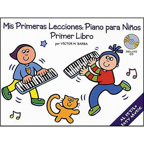 Music Sales Mis Primeras Lecciones Primer Libro (Book/CD)-thumbnail