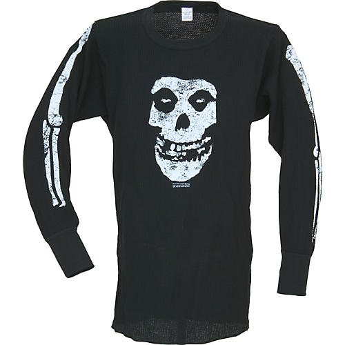 Gear One Misfits Bones Skull Long-Sleeve Thermal-thumbnail