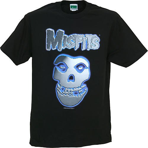 Gear One Misfits Chrome Skull T-Shirt