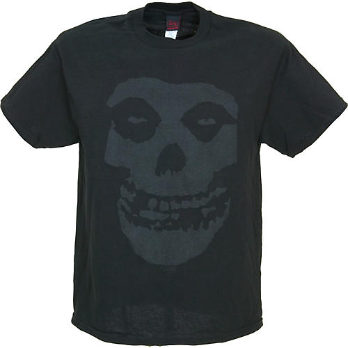 Cinder Block Misfits Tonal Fiend Skull T-Shirt