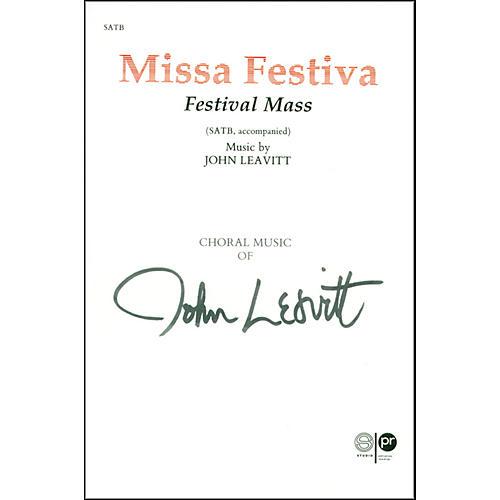 Alfred Missa Festiva SATB Choir