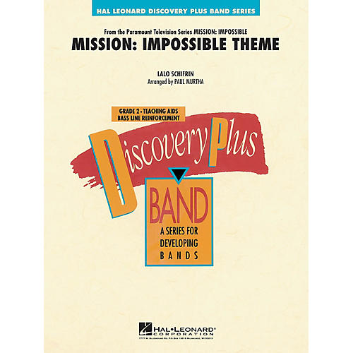 Hal Leonard Mission: Impossible Theme - Discovery Plus Concert Band Series Level 2 arranged by Paul Murtha