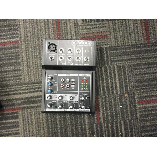 Mackie Mix 5 Unpowered Mixer-thumbnail