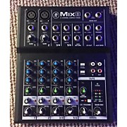 Mackie Mix 8 8-Channel Compact Mixer Powered Mixer