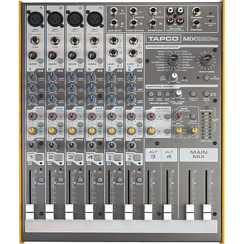 Tapco Mix.220FX Compact Mixer with Effects