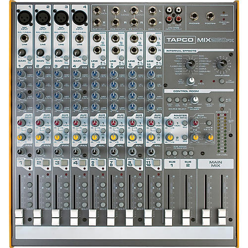 Tapco Mix.260FX Compact Mixer With Effects
