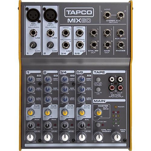 Tapco Mix.60 Compact Mixer-thumbnail