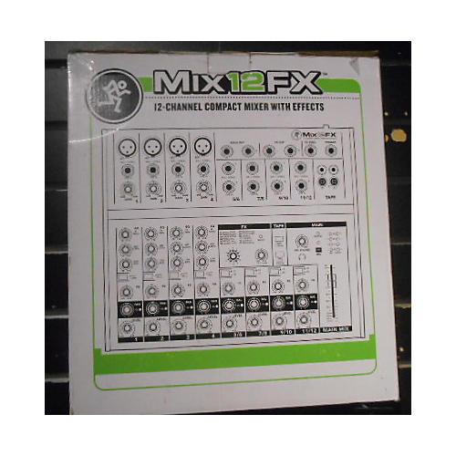 Mackie Mix12fx Unpowered Mixer-thumbnail