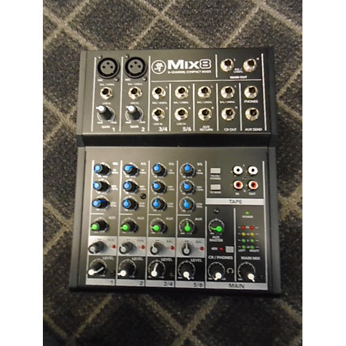 Mackie Mix8 Unpowered Mixer-thumbnail