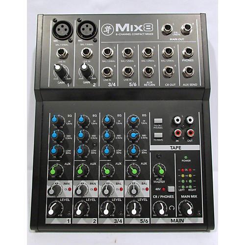 Mackie Mix8 Unpowered Mixer-thumbnail