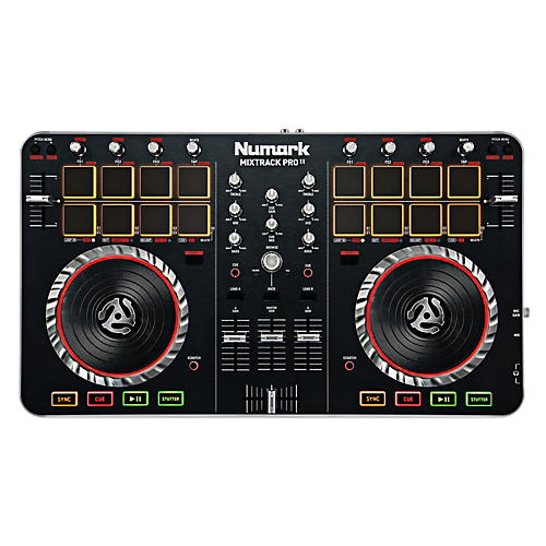 Numark MixTrack Pro II DJ Controller with Audio I/O-thumbnail