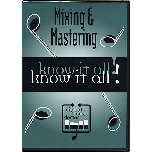 Digital Music Doctor Mixing & Mastering Know it All! (Data DVD)