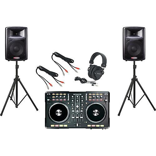 Numark Mixtrack Pro / Harbinger APS12 DJ Package