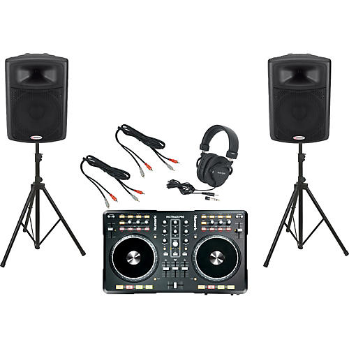 Numark Mixtrack Pro / Harbinger APS15 DJ Package