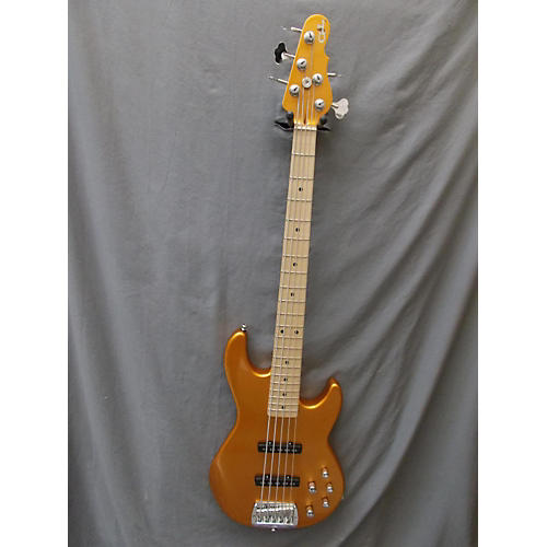 G&L Mj5 Electric Bass Guitar Metallic Orange
