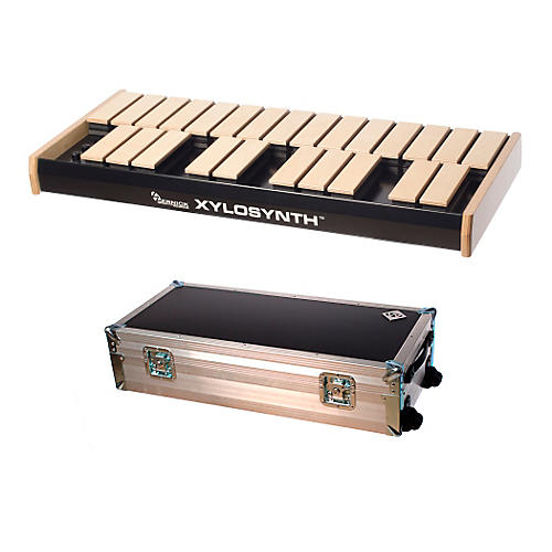 Wernick MkVI Blonde Birch Xylosynth w/Button Control, Flight Case and Accessories-thumbnail
