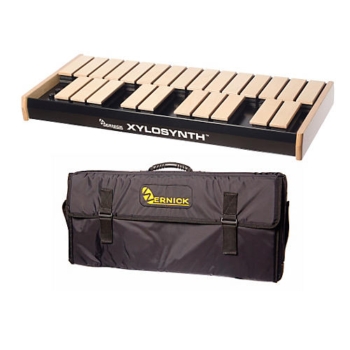 Wernick MkVI Blonde Birch Xylosynth w/Button Control, Internal Sounds and Soft Bag-thumbnail
