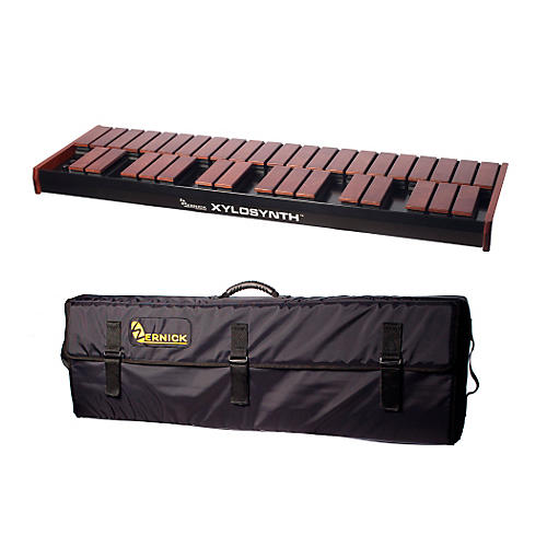 Wernick MkVI Stained Birch Xylosynth w/LED Display and Soft Bag