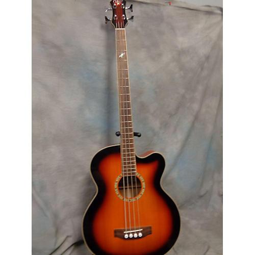 Michael Kelly Mkff4sb Acoustic Bass Guitar 2 Color Sunburst