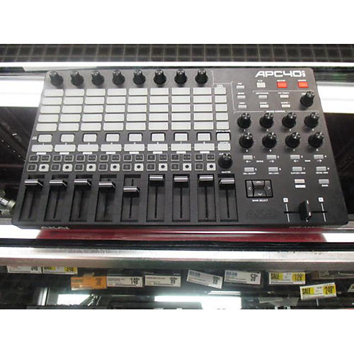 used ableton mkii midi controller guitar center. Black Bedroom Furniture Sets. Home Design Ideas