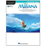 Hal Leonard Moana for Tenor Sax - Instrumental Play-Along Book/Audio Online