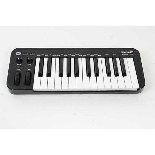 Line 6 Mobile Keys 25 Premium Keyboard Controller for Mobile Devices Black 888365383590
