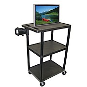"H. Wilson Mobile Plasma/ LCD Cart (Up To 50"" Screen)"