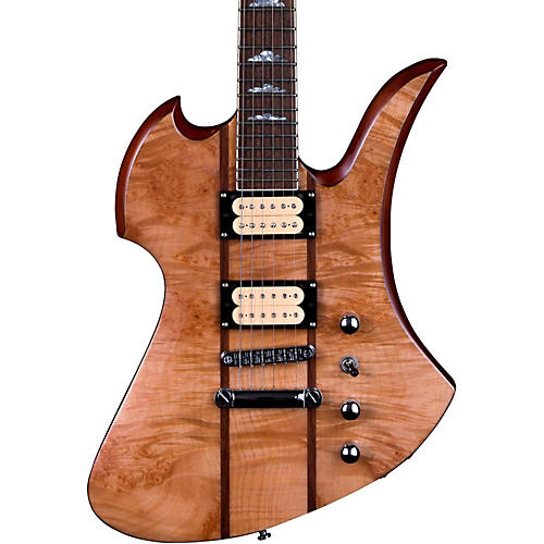 B.C. Rich Mockingbird Neck Through with Maple Burl Top Electric Guitar-thumbnail