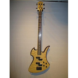 Pre-owned B.C. Rich Mockingbird Plus 4 String Electric Bass Guitar