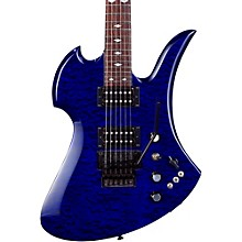 Mockingbird Set Neck with Floyd Rose Electric Guitar Transparent Cobalt Blue