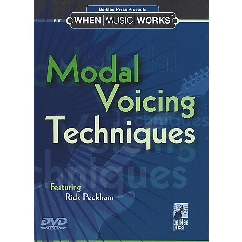 Berklee Press Modal Voicing Techniques Guitar (DVD)-thumbnail