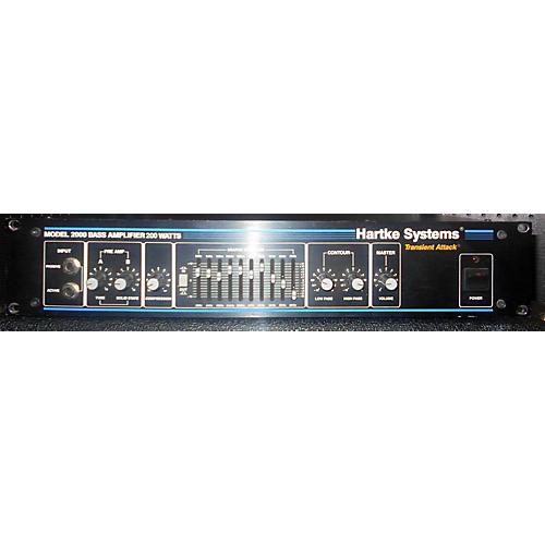 Hartke Model 2000 Bass Amplifier Head Bass Amp Head-thumbnail