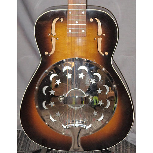 Dobro Model 90 Wood Resonator Guitar Vintage Sunburst