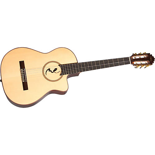 Manuel Rodriguez Model B Cutaway Boca M.R. Nylon-String Acoustic-Electric Guitar
