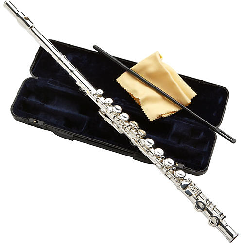 Etude Model EFL-100 Student Flute Closed Hole, Offset G, C Foot