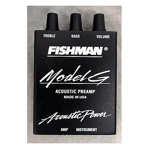Fishman Model G Acoustic Preamp Pedal