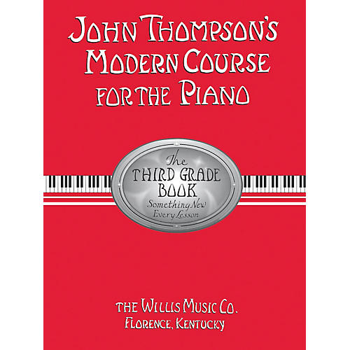 Hal Leonard Modern Course For The Piano Third Grade Book-thumbnail