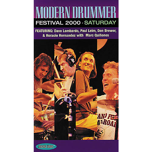 Hudson Music Modern Drummer Festival 2000 Saturday (VHS)